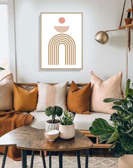 trendy minimalist print