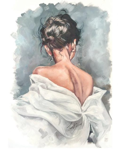 oil sketch print