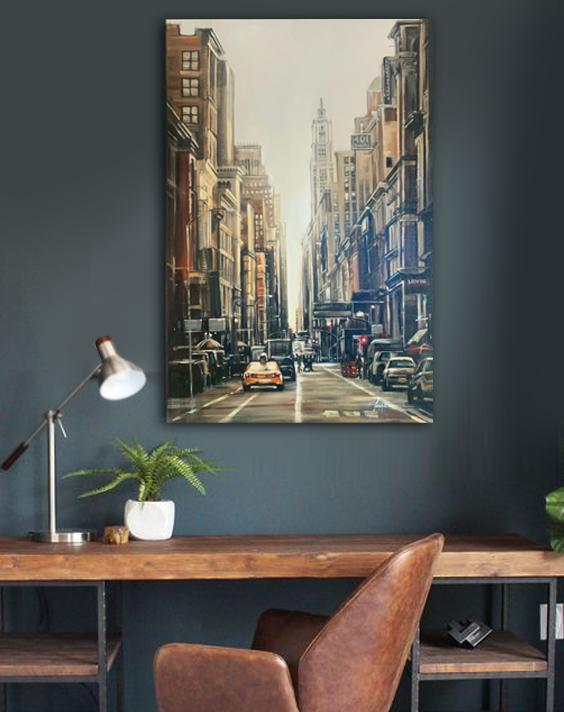 broadway NY painting