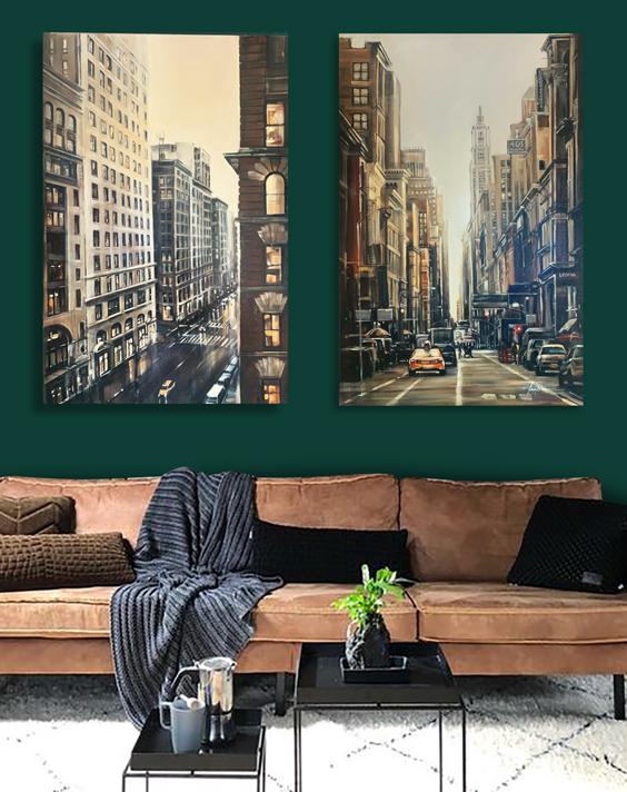 NY Cityscape Painting