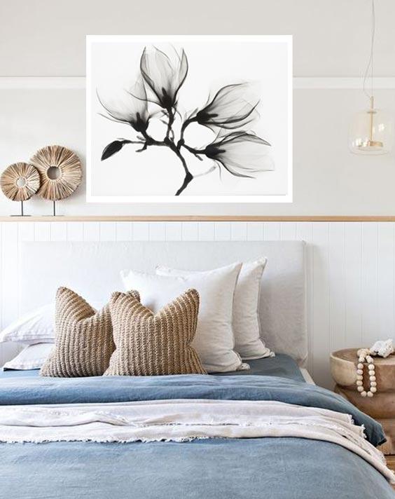 bedroom decor print