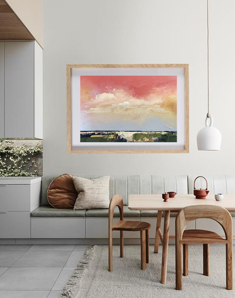 abstract oil decor